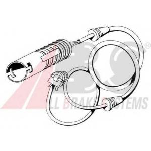 ABS 39530 Сигнализатор, износ тормозных колодок