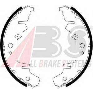 ABS 40714 Комплект тормозных колодок