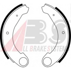 ABS 8402 Комплект тормозных колодок