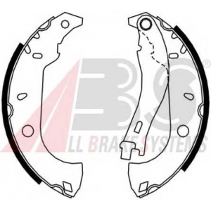 ABS 8832 Комплект тормозных колодок