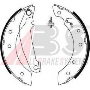 ABS 8854 Комплект тормозных колодок