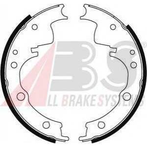 ABS 8931 Комплект тормозных колодок