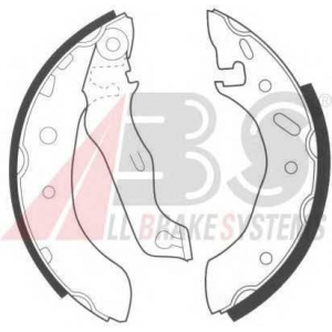 A.B.S. 8945 Колодка торм. барабан. FORD/MAZDA ESCORT/KA/PUMA/121 задн. (пр-во ABS)