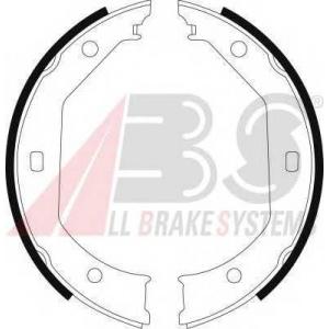 A.B.S. 8973 Колодка торм. барабан. BMW 535I задн. (пр-во ABS)