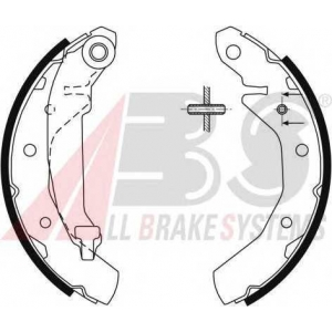 ABS 9061 Комплект тормозных колодок