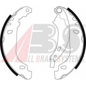 A.B.S. 9092 Колодка торм. барабан. RENAULT CLIO задн. (пр-во ABS)