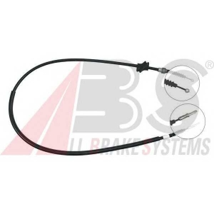 ABS K10167 Трос, стояночная тормозная система