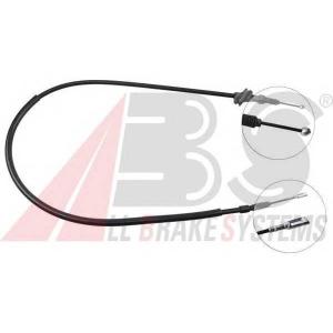 ABS K10168 Трос, стояночная тормозная система
