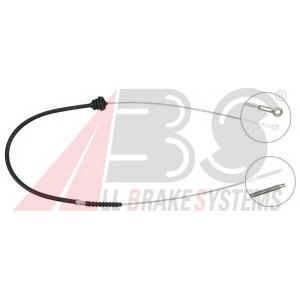 ABS K10801 Трос, стояночная тормозная система