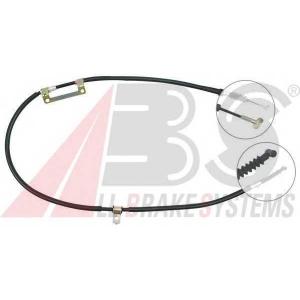 ABS K11258 Трос, стояночная тормозная система