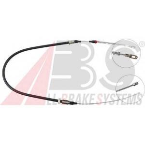ABS K12087 Трос, стояночная тормозная система