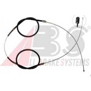 ABS K12106 Трос ручного гальма