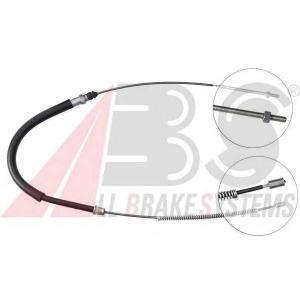 ABS K12207 Трос, стояночная тормозная система