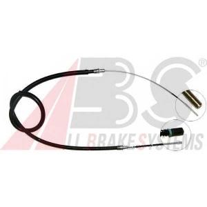 ABS K12466 Трос, стояночная тормозная система