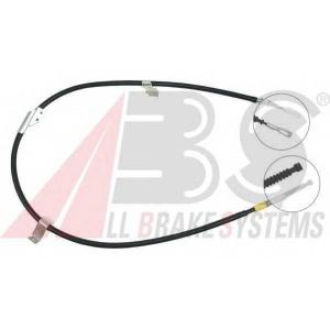 ABS K15077 Трос, стояночная тормозная система