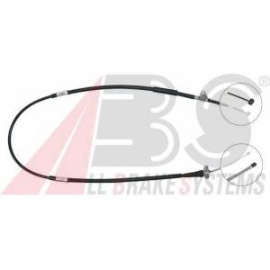 ABS K16048 Трос, стояночная тормозная система