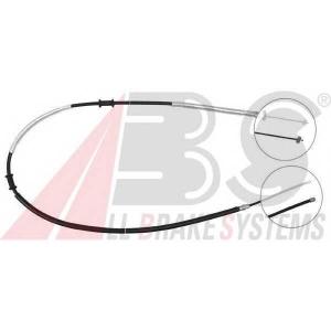 ABS K18058 Трос ручного гальма