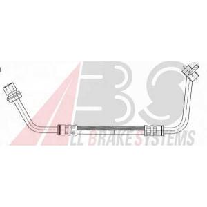 ABS SL3367 Rubber brake hose