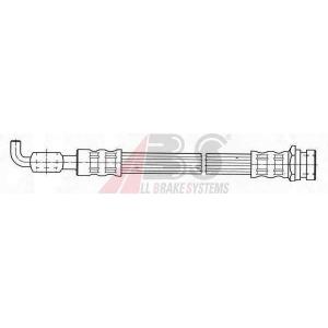 ABS SL3769 Rubber brake hose
