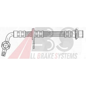 ABS SL5311 Гальмiвний шланг