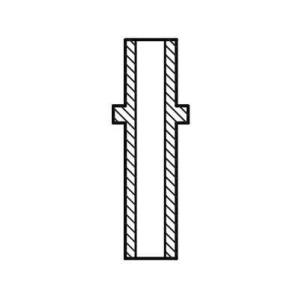 Направляющая втулка клапана vag92061b ae - AUDI 50 (86) Наклонная задняя часть 1.1