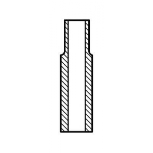 AE VAG92366 Направляющая клапана IN/EX FIAT 0.9/1.1/1.3 (пр-во AE)