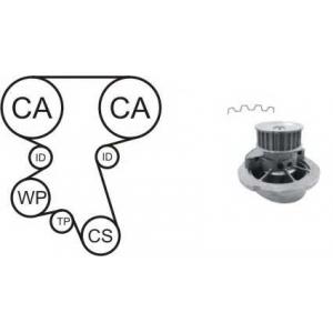 AIRTEX WPK167602 Водяной насос + комплект зубчатого ремня