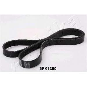 ASHIKA 112-6PK1300 V-ribbed Belt