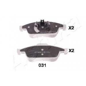 ASHIKA 50-00-031 Комплект тормозных колодок, дисковый тормоз Дача Лоджи