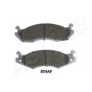 ASHIKA 50-00-059 Комплект тормозных колодок, дисковый тормоз Джип Чероки