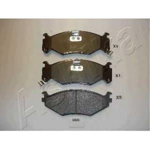ASHIKA 50-00-060 Комплект тормозных колодок, дисковый тормоз Крайслер Le