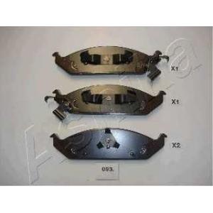 ASHIKA 50-00-093 Комплект тормозных колодок, дисковый тормоз Крайслер Стратус
