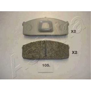 ASHIKA 50-01-105 Колодка торм. дисковый тормоз (пр-во ASHIKA)