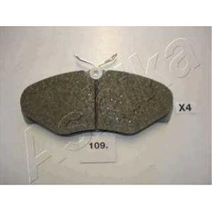 ASHIKA 50-01-109 Колодка торм. дисковый тормоз (пр-во ASHIKA)