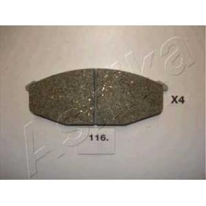 ASHIKA 50-01-116 Колодка торм. дисковый тормоз (пр-во ASHIKA)