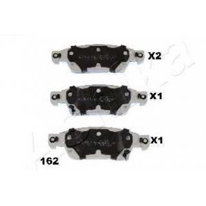 ASHIKA 50-01-162 Комплект тормозных колодок, дисковый тормоз Инфинити Е-Икс