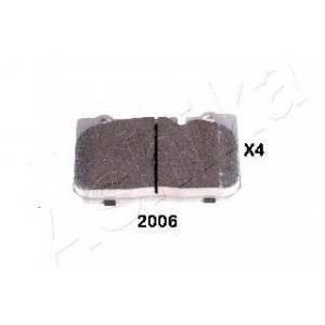 ASHIKA 50-02-2006 Комплект тормозных колодок, дисковый тормоз Лексус Лс