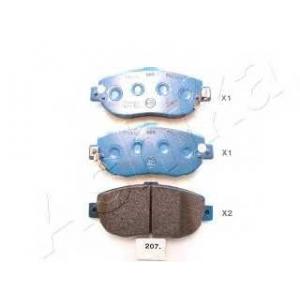 ASHIKA 50-02-207 Комплект тормозных колодок, дисковый тормоз Лексус Ай-Ес