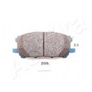 ASHIKA 50-02-209 Колодка торм. LEXUS RX (пр-во ASHIKA)