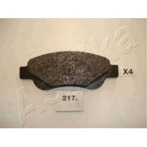 ASHIKA 50-02-217 Комплект тормозных колодок, дисковый тормоз (пр-во ASHIKA)