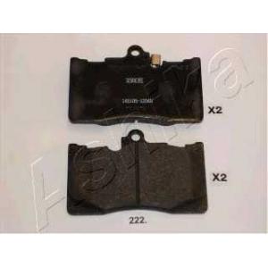 ASHIKA 5002222 Комплект тормозных колодок, дисковый тормоз
