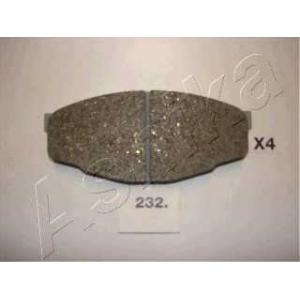 ASHIKA 5002232 Комплект тормозных колодок, дисковый тормоз