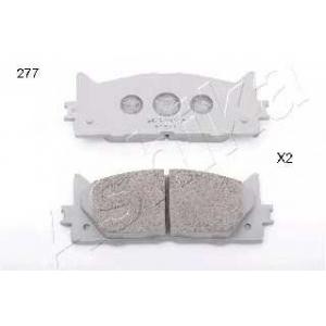 ASHIKA 50-02-277 Комплект тормозных колодок, дисковый тормоз (пр-во ASHIKA)
