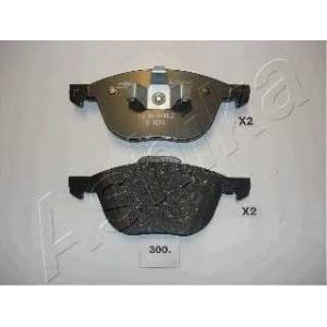 ASHIKA 50-03-300 Комплект тормозных колодок, дисковый тормоз Мазда 3