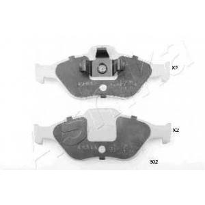 ASHIKA 50-03-302 Колодка торм. дисковый тормоз (пр-во ASHIKA)