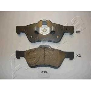 ASHIKA 50-03-315 Комплект тормозных колодок, дисковый тормоз Мазда Трибут