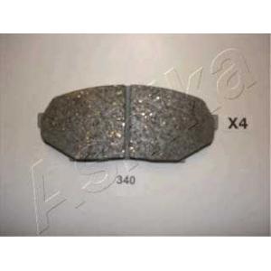 ASHIKA 50-03-340 Комплект тормозных колодок, дисковый тормоз Мазда М-Икс 5