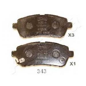 ASHIKA 50-03-343 Колодка торм. дисковый тормоз (пр-во ASHIKA)