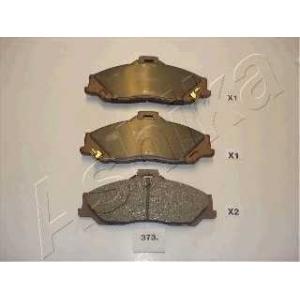 ASHIKA 50-03-373 Комплект тормозных колодок, дисковый тормоз Форд Ренджер
