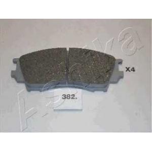 ASHIKA 50-03-382 Комплект тормозных колодок, дисковый тормоз Мазда Кседос 9